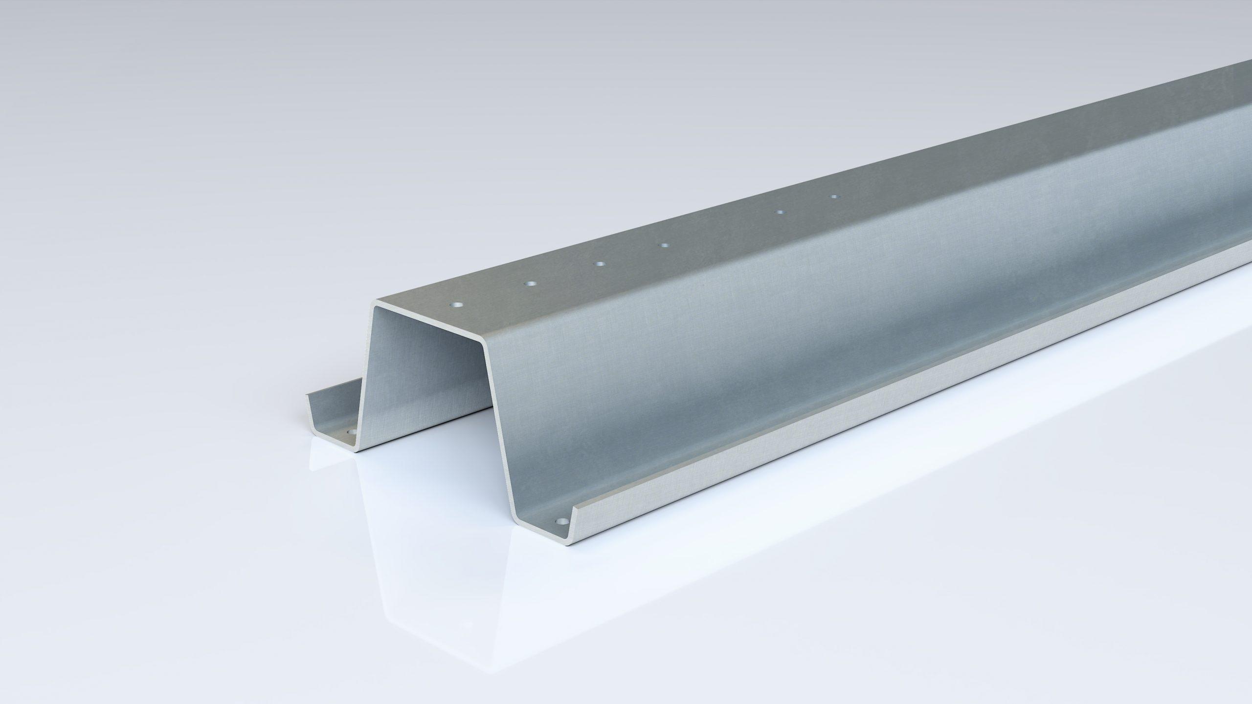 Foto de perfil omega silo de acero conformado en frío de Brausa