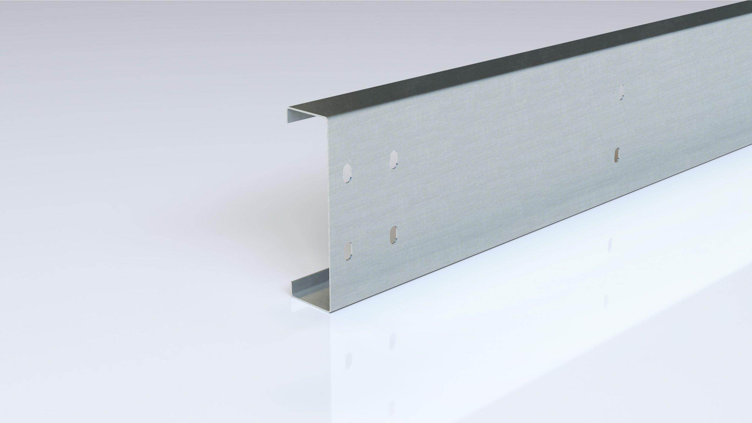 Foto de perfil de acero conformado en frío zebra U