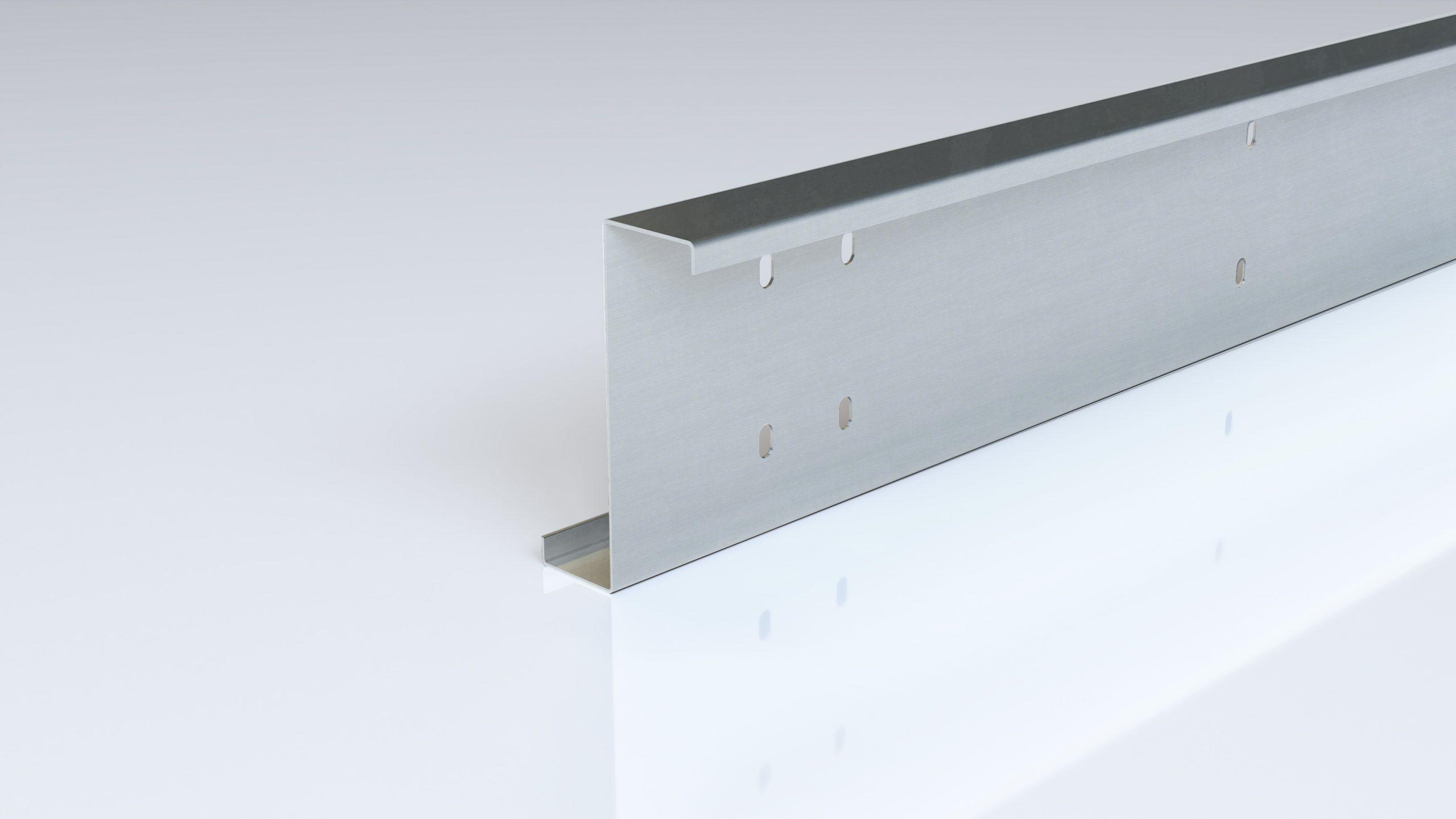 Foto de perfil de acero conformado en frío zeta punzado