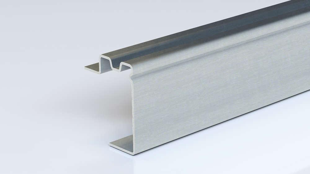 Foto de perfil perforado con borde de acero conformado en frío de Brausa