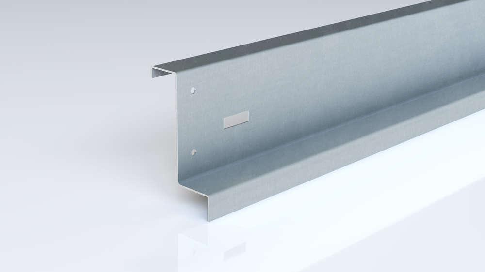 Foto de carril punzado de acero conformado en frío de Brausa