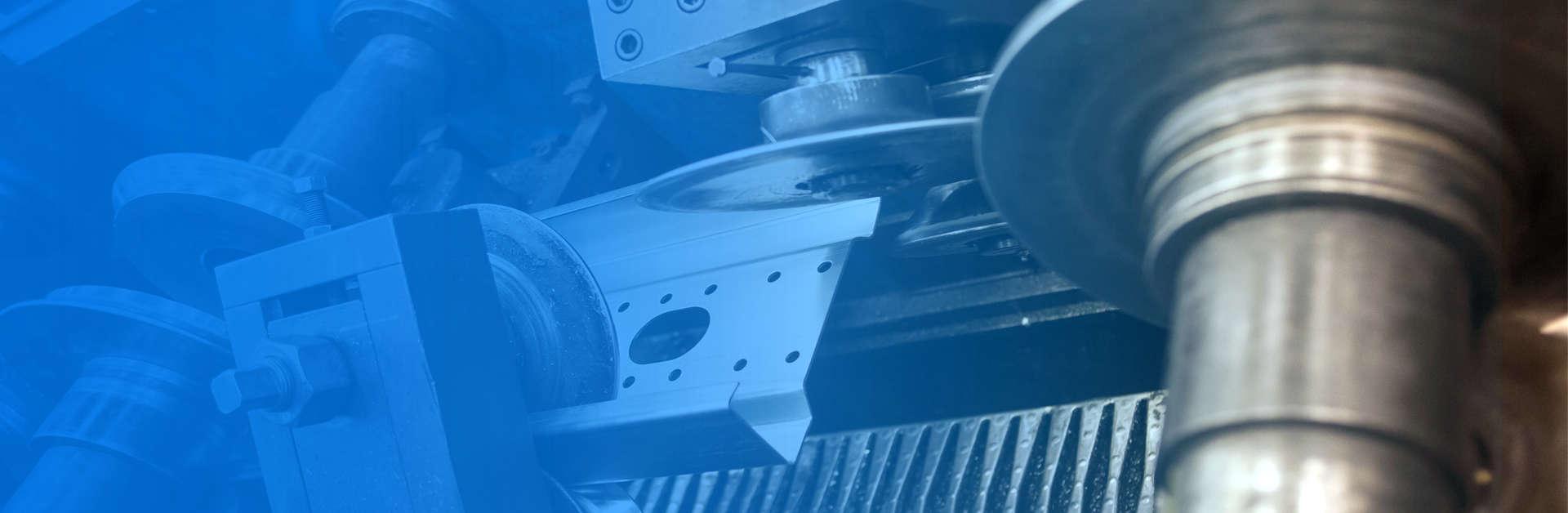 Foto de header para sección de medios productivos, de Brausa, fabricante de perfiles de acero conformado en frío