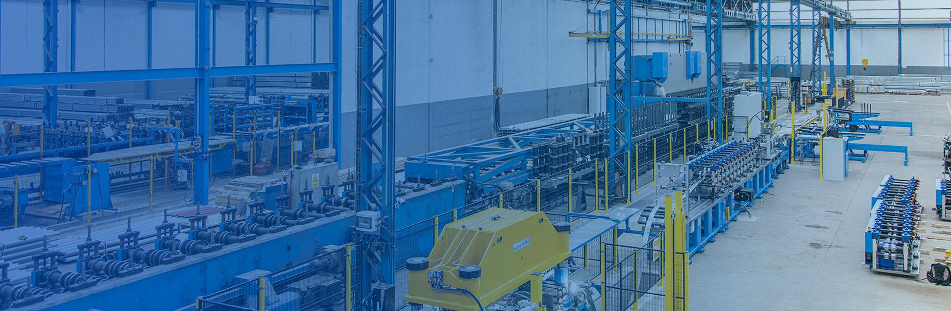Foto de header para sección sobre nosotros, de Brausa, fabricante de perfiles de acero conformado en frío