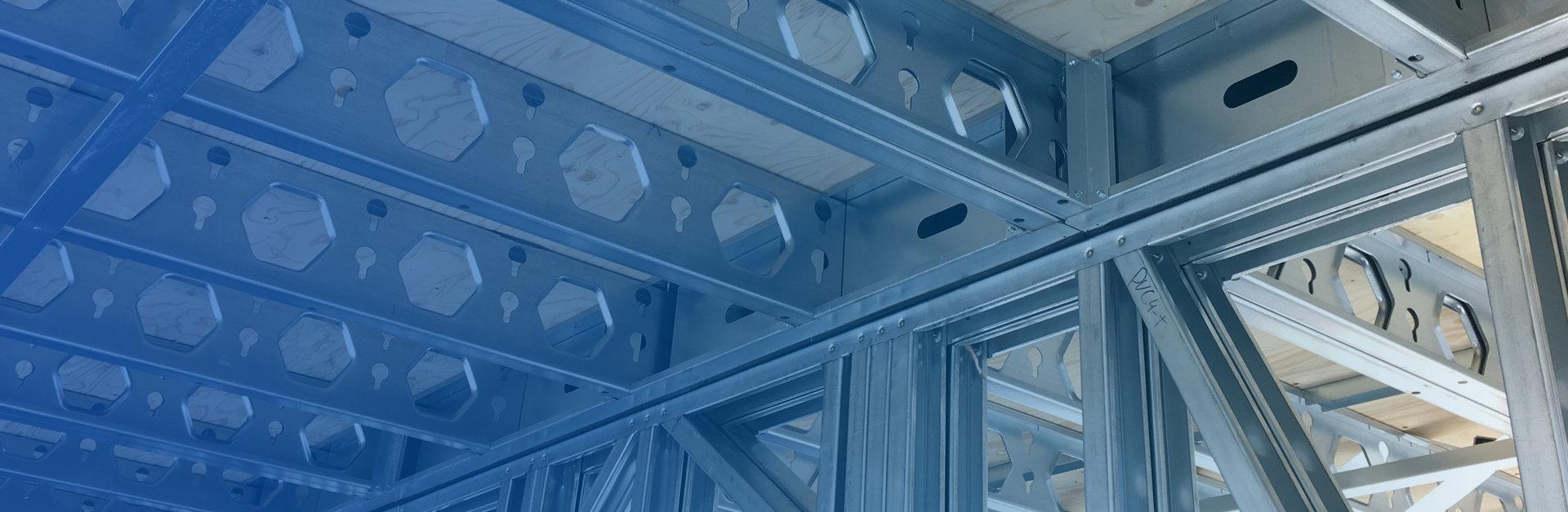 Foto de header para sección de soluciones, de Brausa, fabricante de perfiles de acero conformado en frío