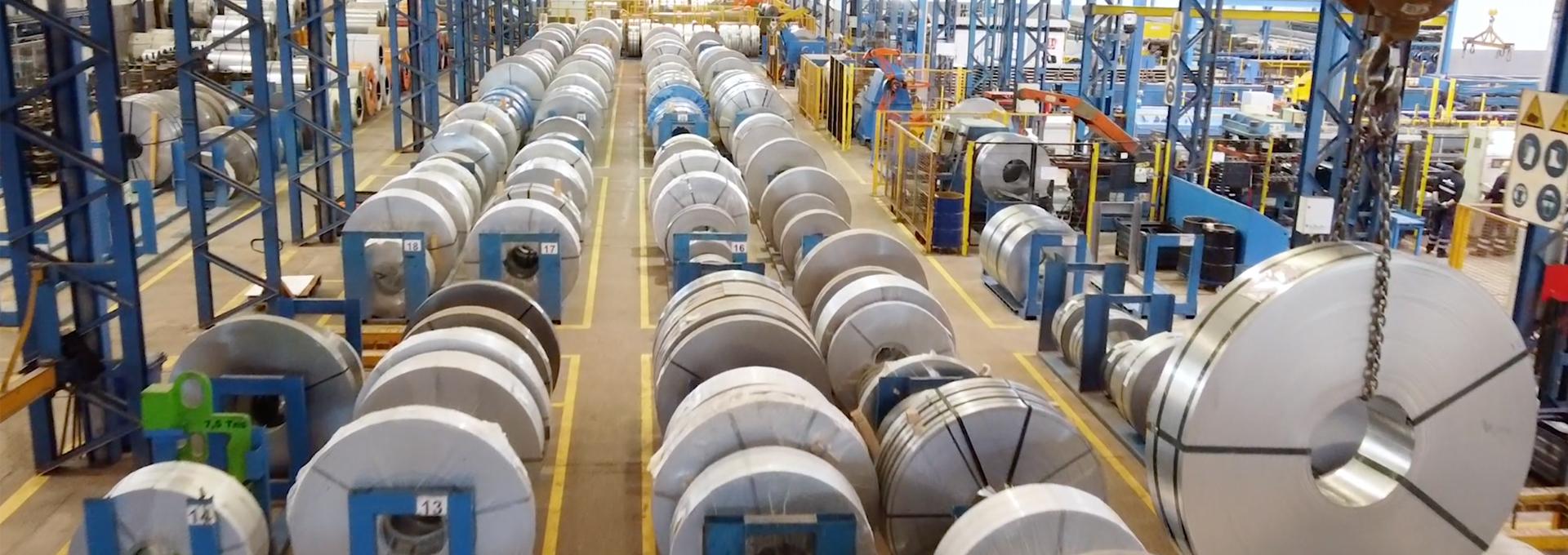 Foto de portada del vídeo acero de Brausa, fabricante de perfiles de acero conformado en frío
